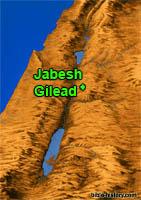 Jabesh-Gilead-map