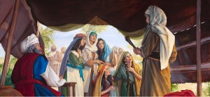 Moses and Zelophehad's daughters
