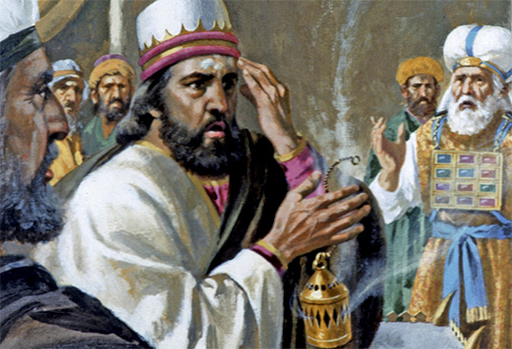 the impact of jehoiada and the death of zechariah in the bible Chapter 5 & 6 the prophets (nevi'im)  the second major division of the hebrew bible,  the son of jehoiada the priest, zechariah was stoned to death for.