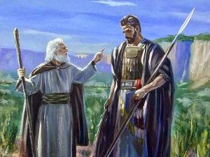 Prophet confronting Amaziah