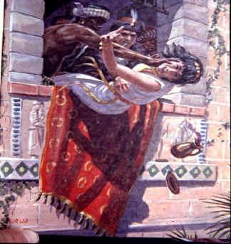 queen jezebel in the bible