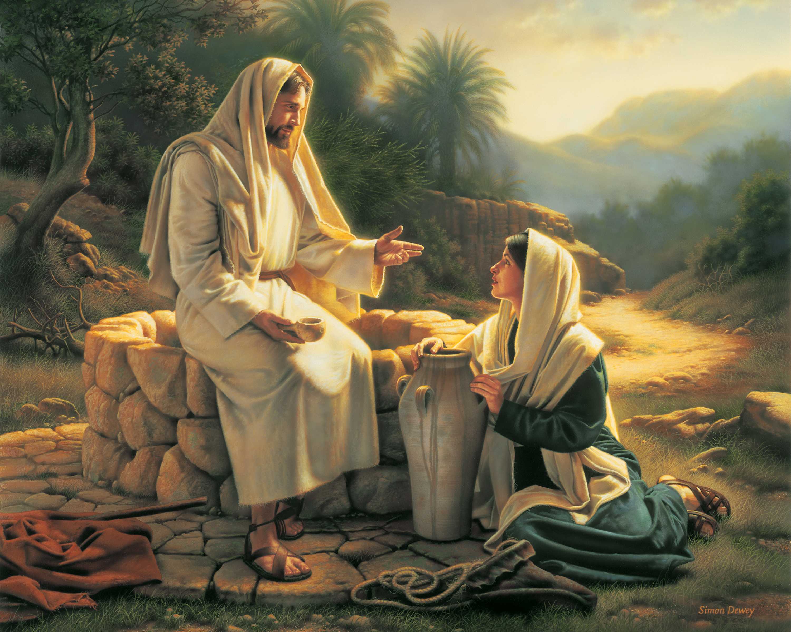Image result for Samaritan woman